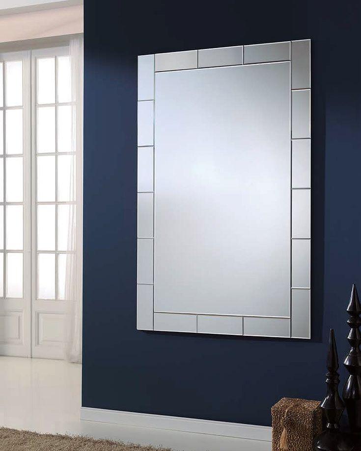 Espejo rectangular enmarcado (294 – DE13) - Muebles CASANOVA