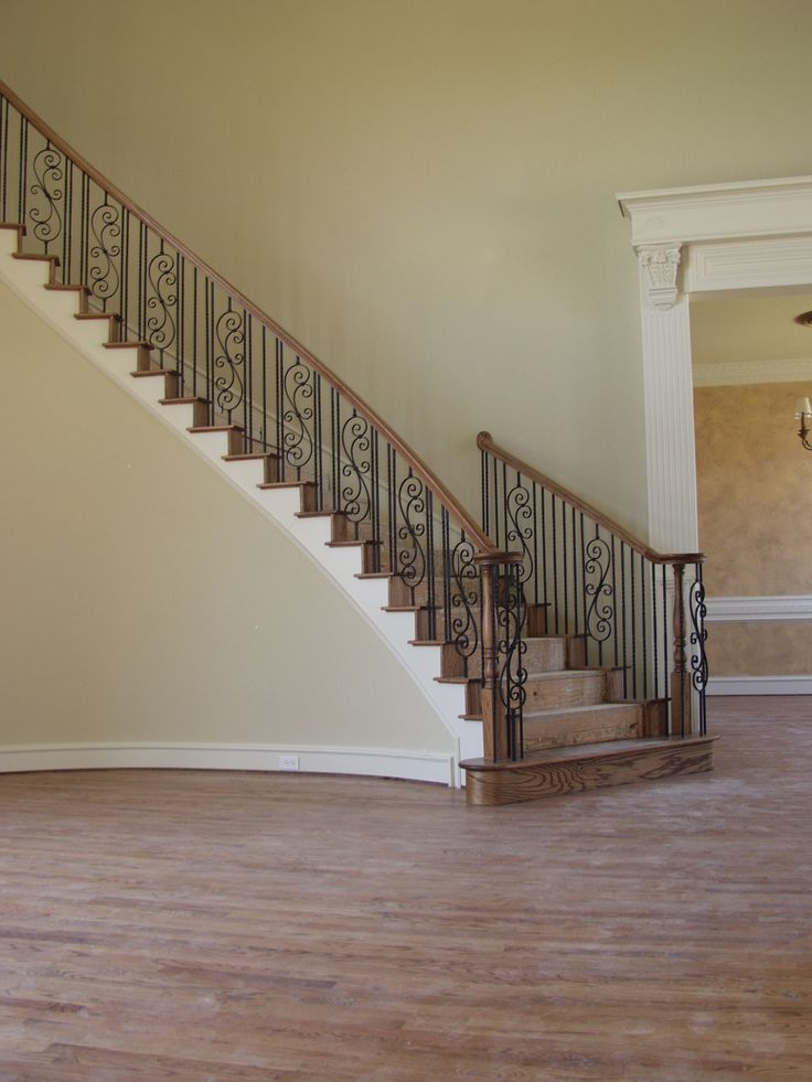 51 best traditional staircase remodeling gallery images by for Spiral staircase square