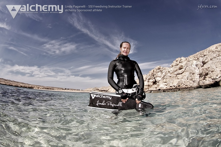 Linda Paganelli - SSI Freediving Instructor Trainer  #alchemy_sponsored_athlete