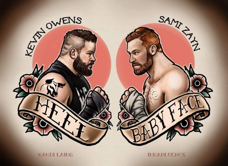 Wrestling heel vs face