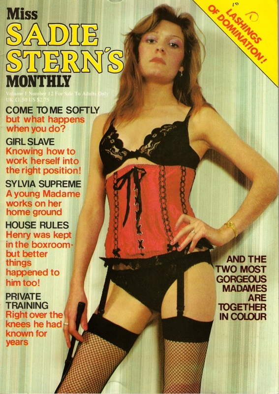 Covers Vol 1 - Miss Sadie Sterns Monthly Archives -7834