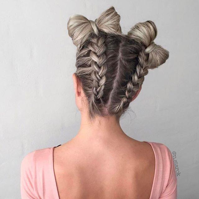 Mermaid Heart Braid | Cute Valentine's Day Hairstyles | Cute Girls Hairstyles