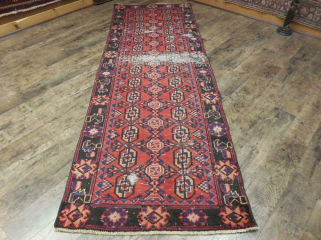 Forsale Ca1930s Veg Dye Antique Qashqai Turkeman Serapi 3 2x9 7