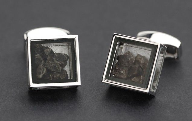 Pandora's Box Meteorite Cufflinks