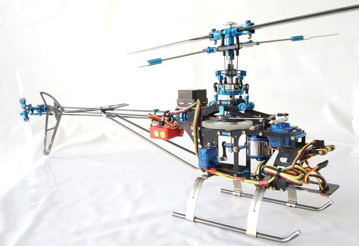 Características básicas de los helicópteros de RC