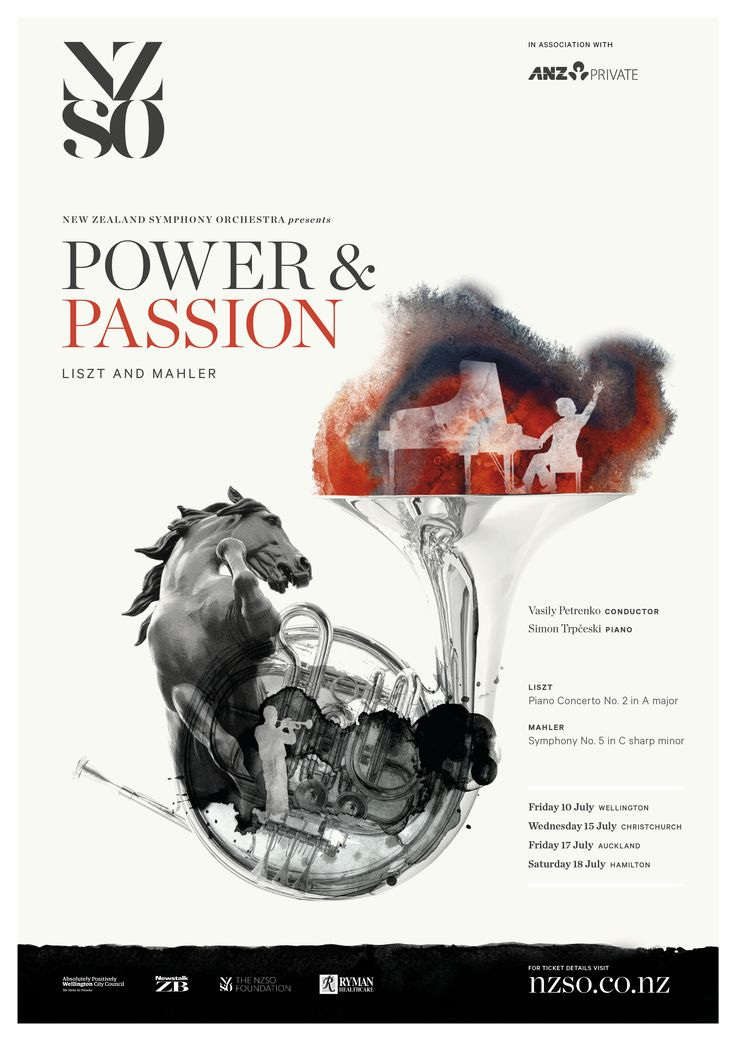 Power and Passion 10 - 18 July 2015. Superstar Russian conductor Vasily Petrenko joins forces with extraordinary Macedonian pianist Simon Trpčeski for a breath-taking display of classical brilliance in the concert hall. https://www.nzso.co.nz/concerts/concert/power-passion/