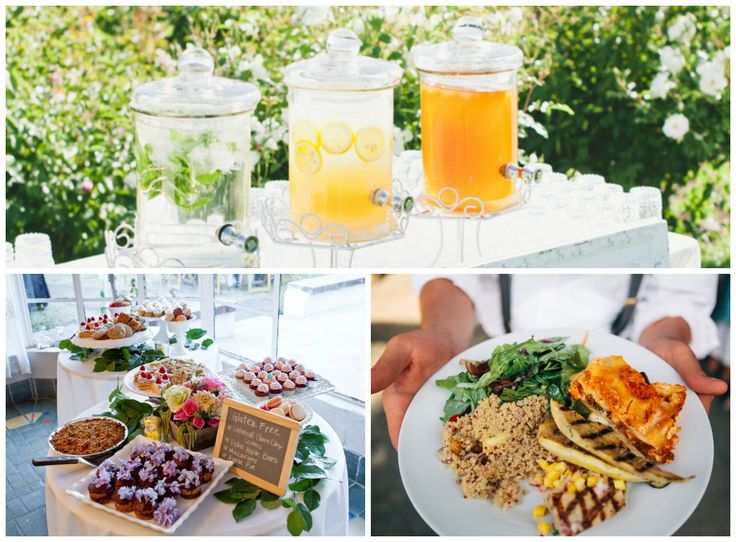 Eco-friendly catering with delicious organic vegan food!