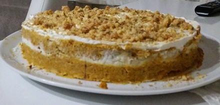 Balkabağı Pastası #pumpkinpie