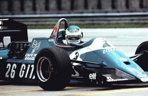 Raul Boesel (Ligier) - 1983 - Rio (Brésil)