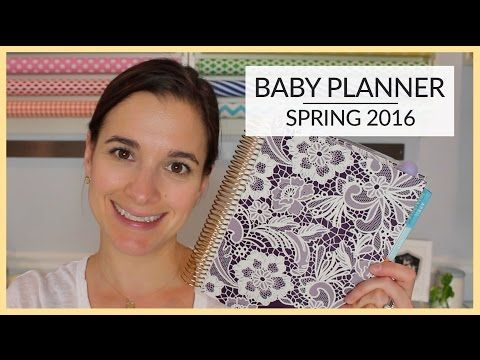 Baby Planner | Spring 2016 - YouTube