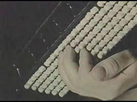 Werbung aus der ehemaligen Deutschen Demokratischen Republik DDR für Weltmeister-Akkordeons aus Klingenthal. Stichworte: #Accordion #World #Marketing #Advertising #Video #Music #Vintage