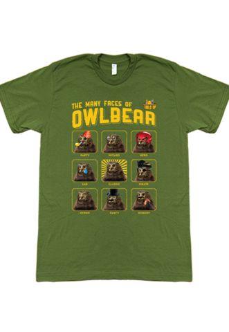 TableTop Owlbear T-Shirt