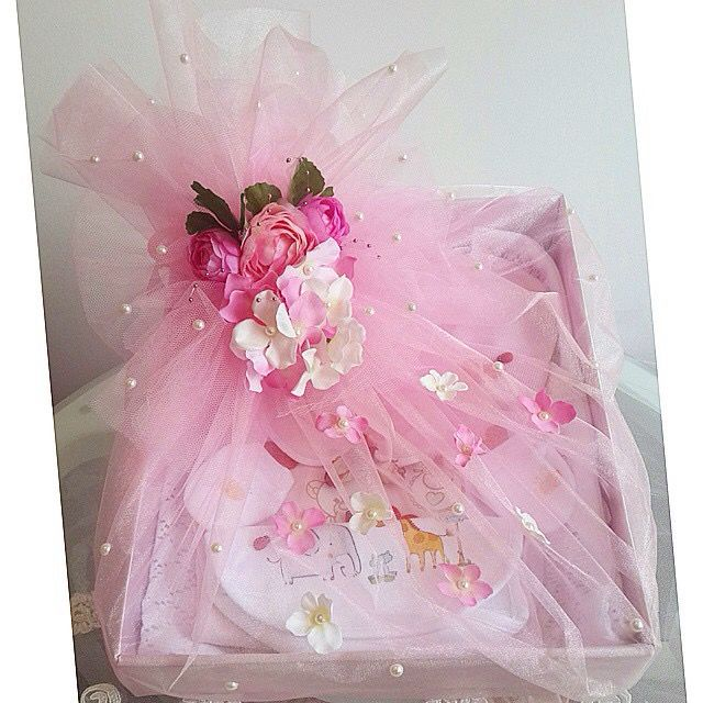 Baby Shower Gifts Wrapping Ideas ~ Shower gift wrap idea baby pinterest ideas