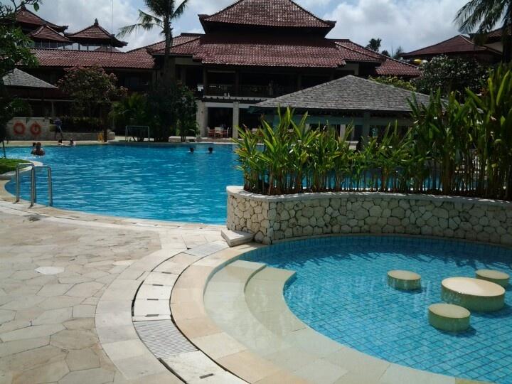 Holiday Inn Pool..