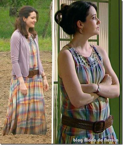 Looks de outubro da Felícia na novela Passione