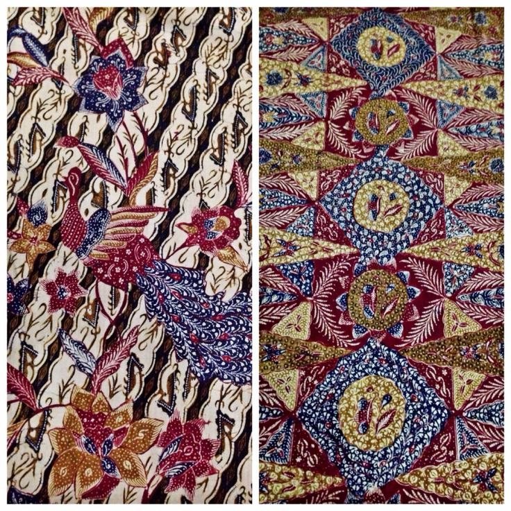Hand drawn vintage sarung (wrap) Batik Pekalongan with Tumpal Pasung or Pucuk Rebung. Private collection of Arief Laksono.