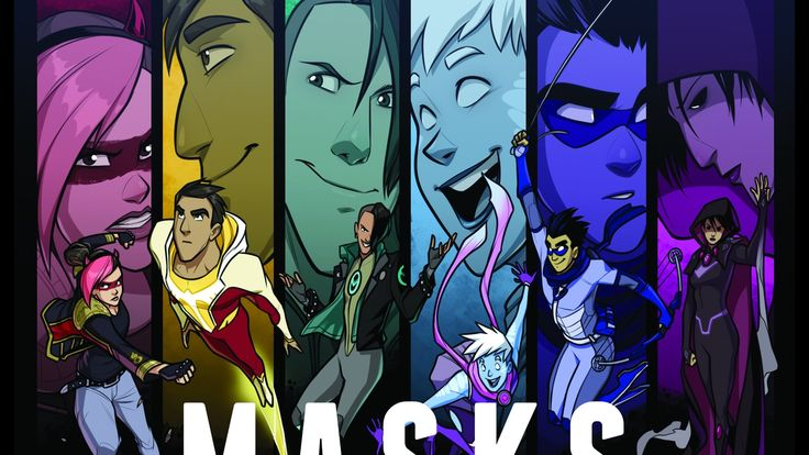 Masks is a tabletop RPG about a team of young superheroes forging their own identities in Halcyon City, a megapolis packed with heroes.