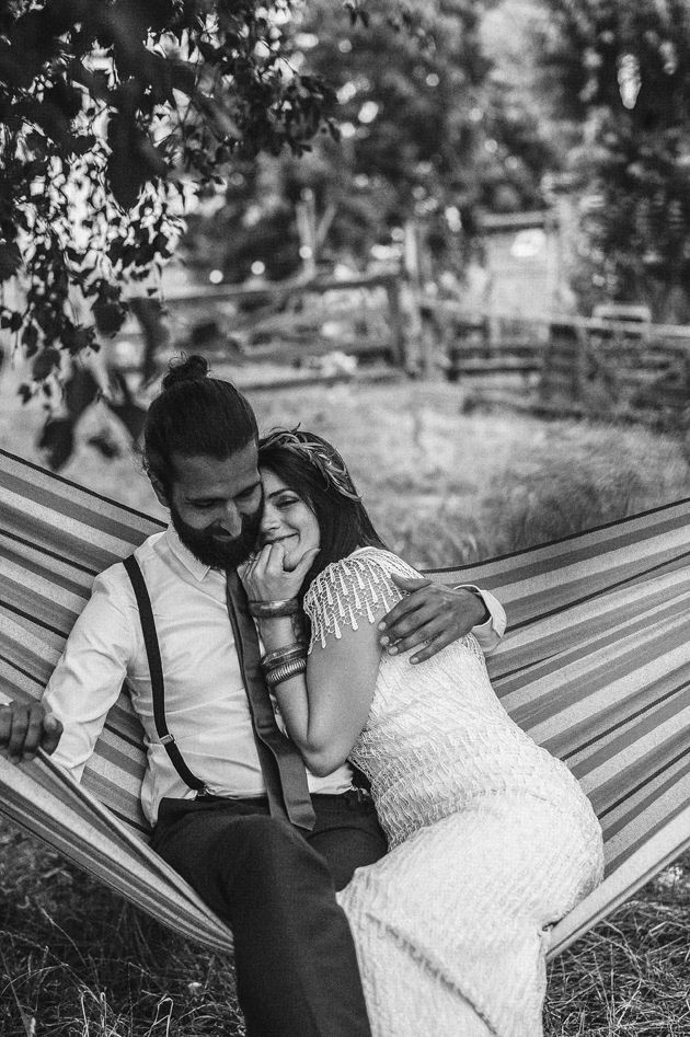 Intimate, Bohemian Wedding in A Meadow by Melissa Milis Photography (www.melissamilis.com)