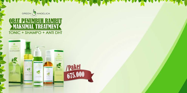 Obat Rambut | Obat Rambut Botak | Rambut Botak: Obat Penumbuh Rambut - Green Angelica