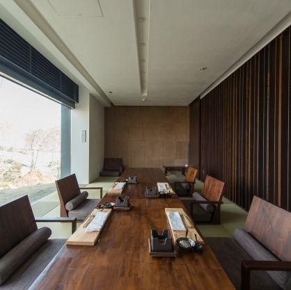 Tatami Dining Room | Zaborin Ryokan 座忘林