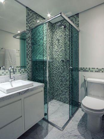 Banheiro ideal pra mim. Igual o meu.