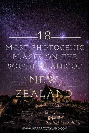 Die schönsten Fotospots der Südinsel, Neuseeland | Kolumbus Sprachreisen | #KSRSprachreisen https://www.kolumbus-sprachreisen.de/work-abroad/work-and-travel/neuseeland