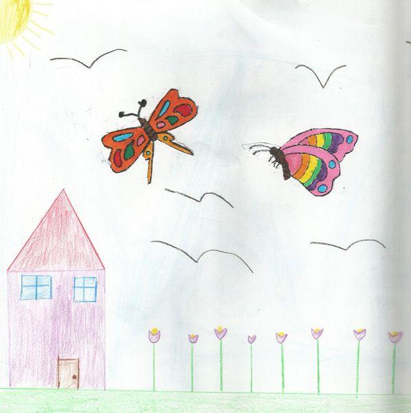 Sara Pacotto. Age 8