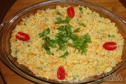 Receita de Arroz temperado fácil em receitas de arroz, veja essa e outras…