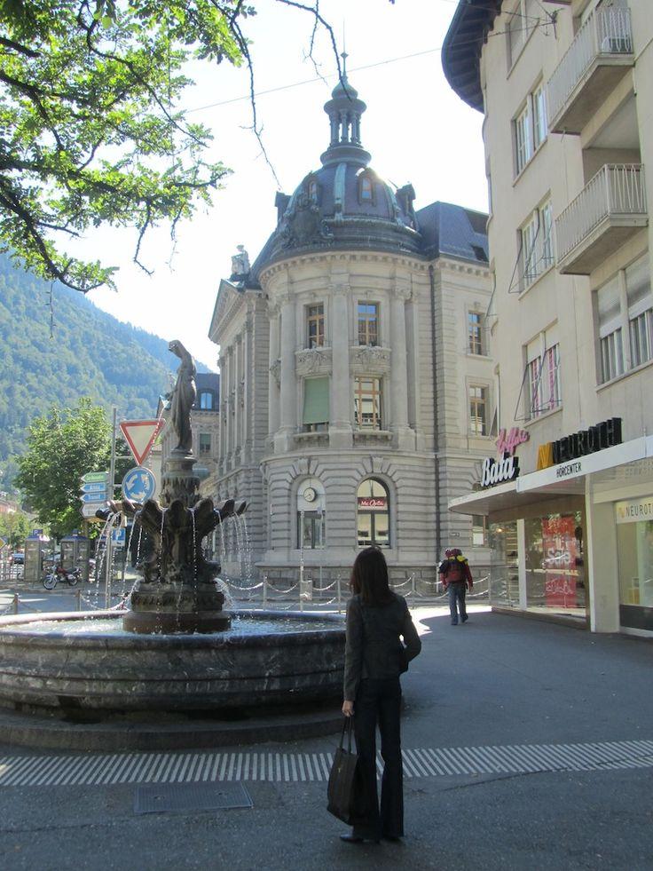 the oldest Swiss town, Chur