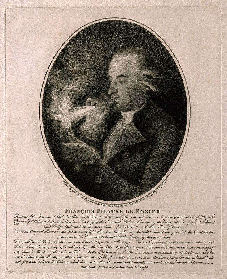 JeanFrançois Pilâtre de Rozier Above the clouds