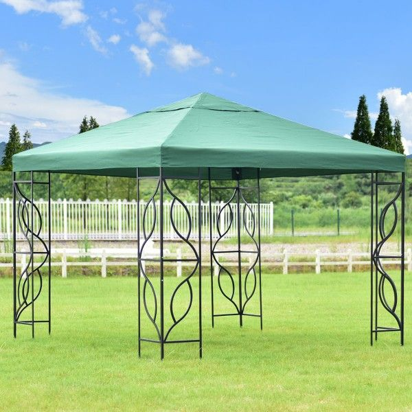 10 X 10 Shelter Patio Wedding Party Canopy Canopies Gazebos Outdoor Structures Outdoor Living Lawn Garden Hom Gazebo Patio Wedding Shade Canopy