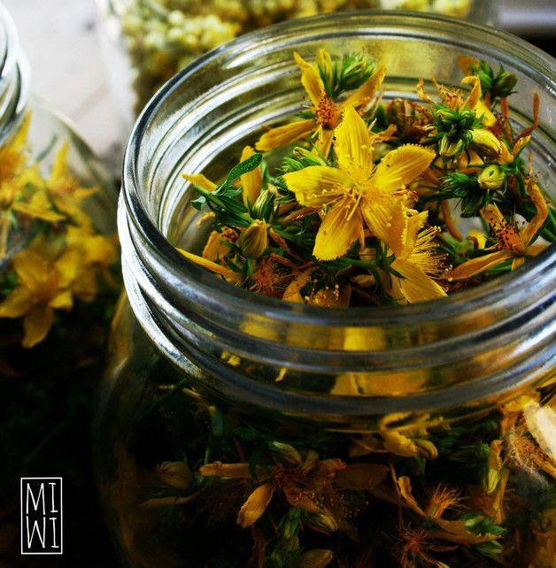 Piante da giardino - Olio di Iperico Bio (Hypericum Perforatum) - un prodotto unico di MimiSoapArt su DaWanda