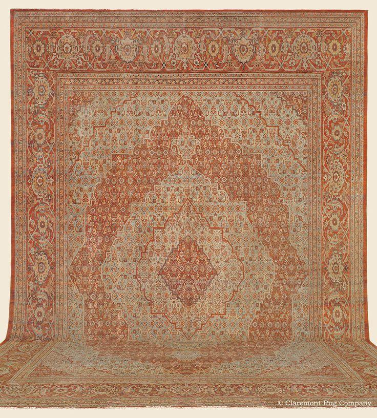 43 Best Antique Persian Hadji Jallili Tabriz Rugs Images
