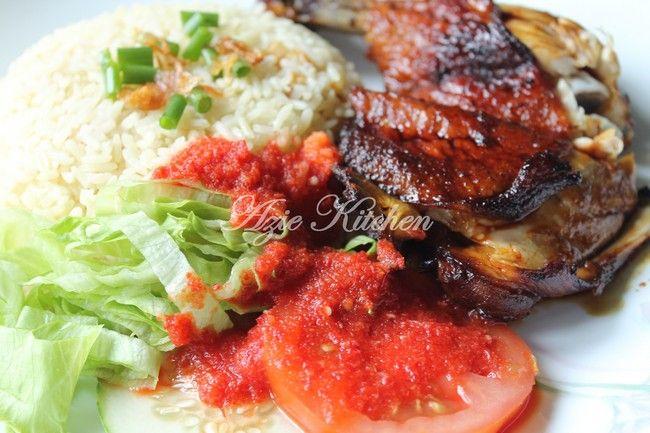 Azie Kitchen: Nasi Ayam Kak Laily Subang Jaya Yang Tersohor