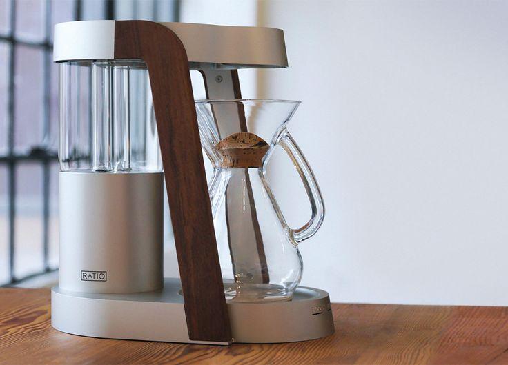 構想3年、機能とデザインを追求しまくったコーヒーメーカー Ratio Eight