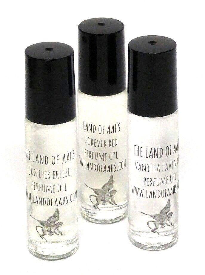 Karma Lush Type Perfume Oil Fragrance Rollerball Orange Lavender Pine Patchouli #LandofAahs