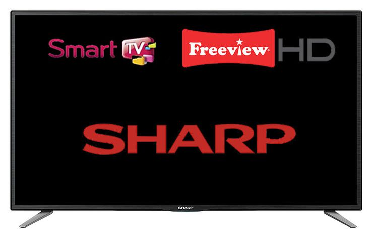 """Sharp LC-32CHE6131K 32"""" Widescreen LED Smart TV 720p HD Ready with Freeview HD  in Sound & Vision, Televisions 