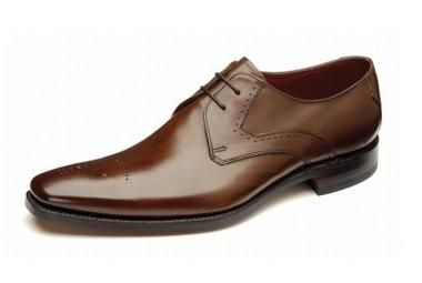 Loake Powers is a stylish and understated Derby with subtle punch detailing to Toe.  http://www.robinsonsshoes.com/loake-powers.html