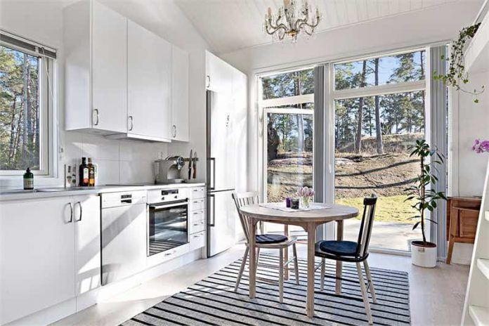 One Of Sweden's Smallest Houses Is For Sale. But The Inside Just Amazes Me. Wow! - Prettyideas