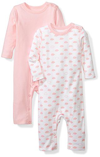 beaa7ca7664 Chic Moon and Back Baby Set of 2 Organic Long-Sleeve Snap-Shoulder  Coveralls.   34.99 - 39.99  findanew from top store
