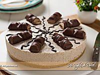 Cheesecake Kinder Bueno senza cottura