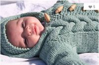 ultra cute baby bunting knitting pattern