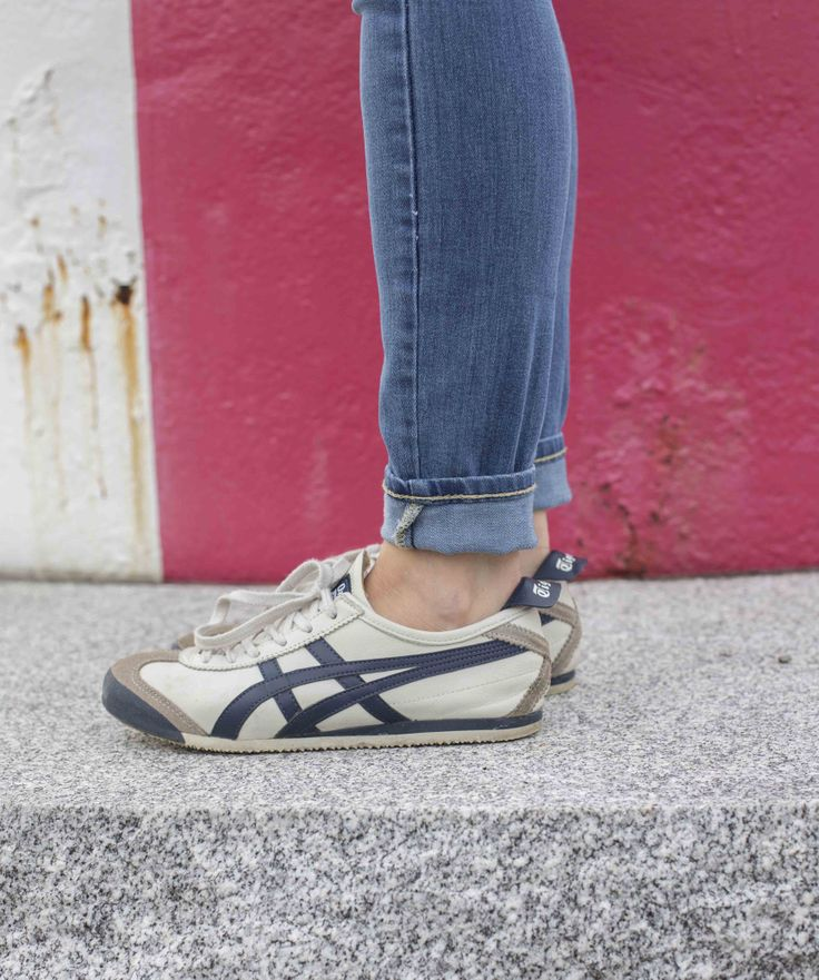 asics tiger with jeans