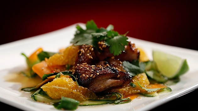MKR4 Recipe - Crispy Duck with Asian Salad