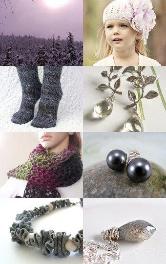 'winter hues' --Pinned with TreasuryPin.com