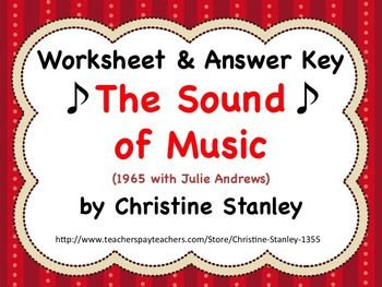 sound of music movie worksheet answer key student learning worksheets and students. Black Bedroom Furniture Sets. Home Design Ideas