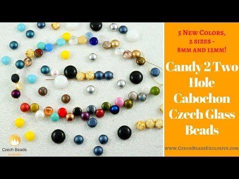 Video! CANDY 2 Two Hole Cabochon Czech Glass Beads - New Arrivals     #dawanda #dawanda_de #dawandashop #etsy #etsyshop #etsystore #etsyfinds #etsyseller #amazon #amazondeals #alittlemercerie #candy #candybeads #candydesign #candyjewelry #2hole #cabochon #cabochonjewelry #czechbeads #glassbeads #czechglassbeads #czechglassjewelry