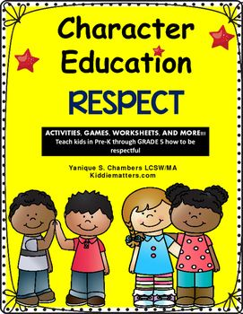 Teaching kids respect is an integral part of any character education program.  It is important for children to learn how to show respect to others and to themselves. This product is designed to help students from Pre-School-2nd grade learn and practice being respectful.You can use this product either individually, with a group, or with the whole class.Included in this product are: Respect Social Story (Color and B/W)Ways to Show Respect at Home PosterWays to Show Respect at School…