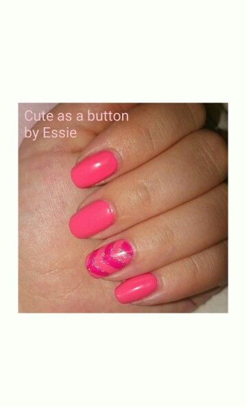 Essie nail polish, cute as a button