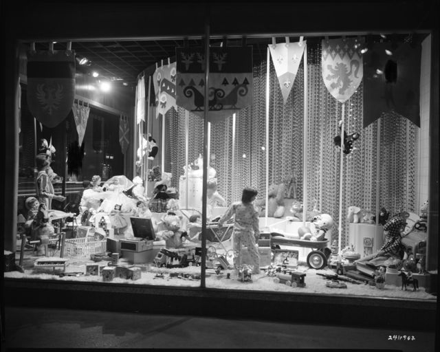 Christmas window display, Dayton's Department Store, Minneapolis,1956. Photo by Norton & Peel. © Minnesota Historical Society. All rights reserved.